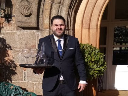 Sommelier of the Month (UK): Stefanos Andreadis