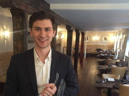 RIEDEL's sommelier of the month for October 2015 is Will Dennison