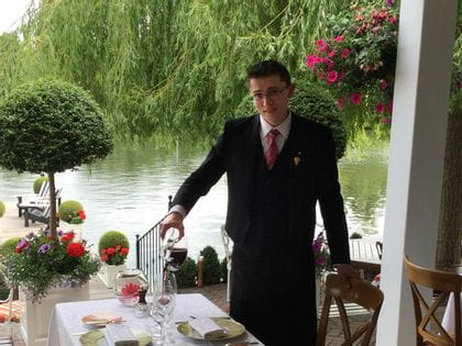 RIEDEL's sommelier of the month for September 2015 is Maxime Walkowiak