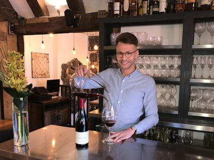 RIEDEL's sommelier of the month for August 2019 is Adam Manning