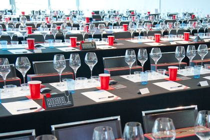 RIEDEL Comparative Wine Glass Tasting Event