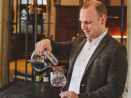 RIEDEL's sommelier of the month for October 2017 is Ross Morton