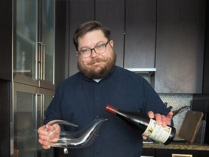 RIEDEL's Sommelier of the Month (CAN) for July 2020 is Peter Van de Reep