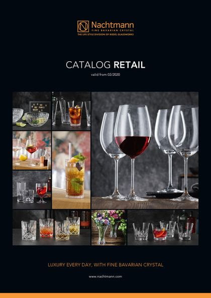 Cover of the Nachtmann catalogue retail