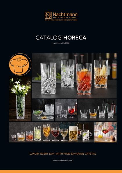 Cover of the Nachtmann catalogue HORECA