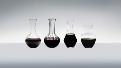 Machine made on premise decanters