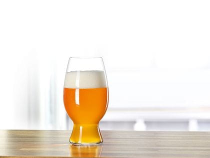Craft Beer American Wheat Beer glass
