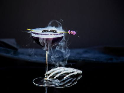 Halloween cocktails - Magic Potion by Mr. Hyde