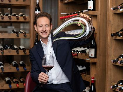 RIEDEL Amadeo Performance Decanter with Fatto a Mano Performance glass
