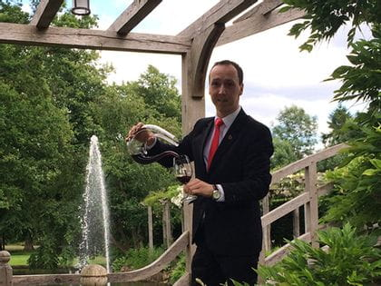 RIEDEL's sommelier of the month for August 2017 is Jaroslav Sedlacek