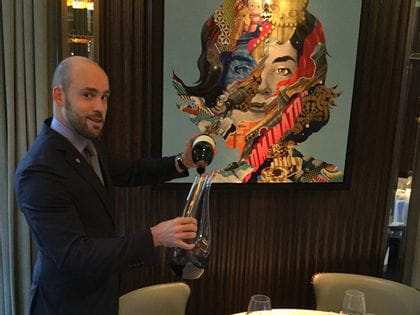 RIEDEL's sommelier of the month for November 2015 is Michael Deschamps