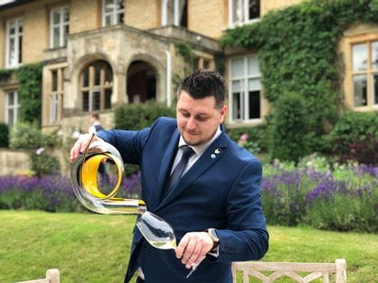 RIEDEL's sommelier of the month for September 2019 is George Harpau