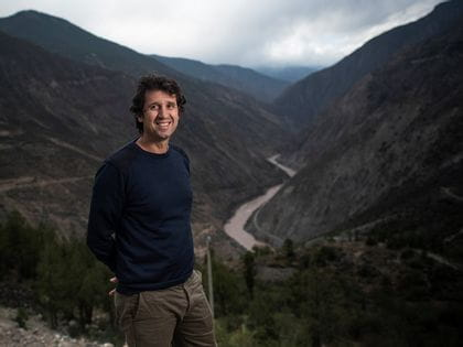 Maxence Dulou, winemaker and Ao Yun's Estate Director in the Himalayas