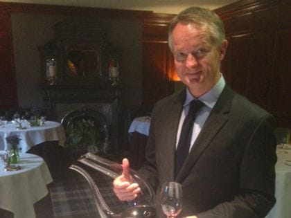 RIEDEL's sommelier of the month for April 2015 is James Payne